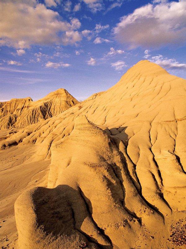 Alberta Badlands Layers of Time Eroded Badlands Slopes