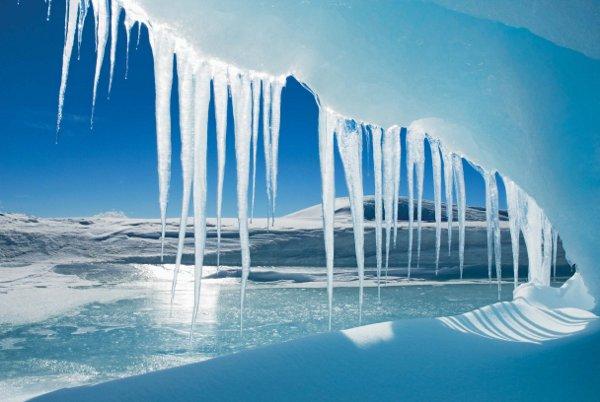 Antarctica Crystal Desert Ice Cave