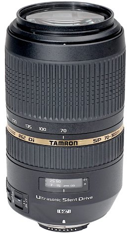 Best Entry Level Lens Tamron SP 70-300mm F4-56 Di VC USD