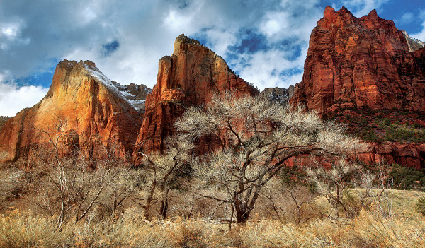Nature is my Kingdom Zion National park Utah canon 5D 24-70 Manfrotto Tripod