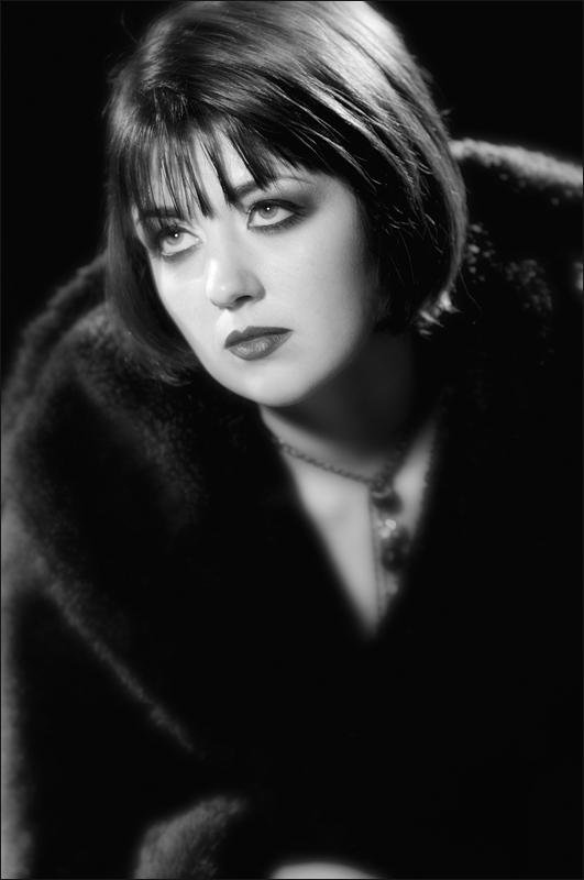 Copyright Mark Rockwood - Recreating 1920's Portrait Lighting 22