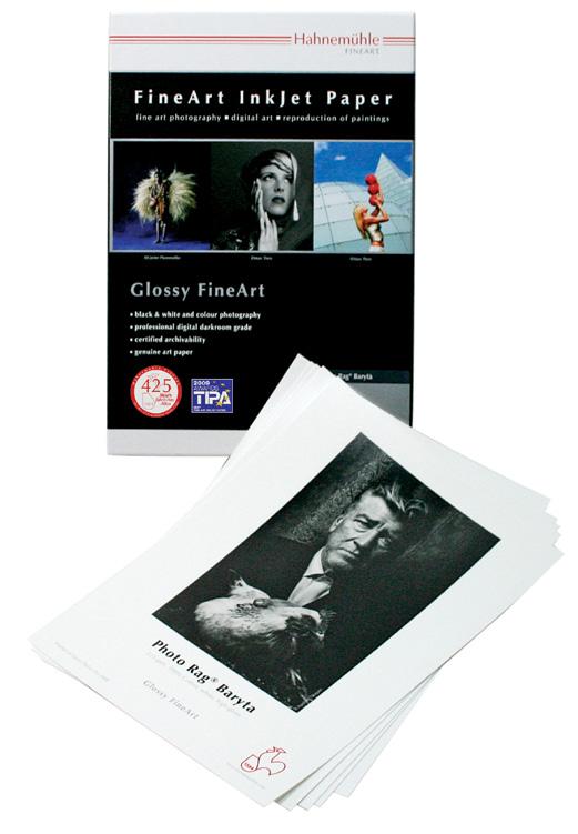 Hahnemuhle FineArt Inkjet Paper Glossy