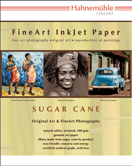 Hahnemuhle FineArt Inkjet Paper Sugar Cane