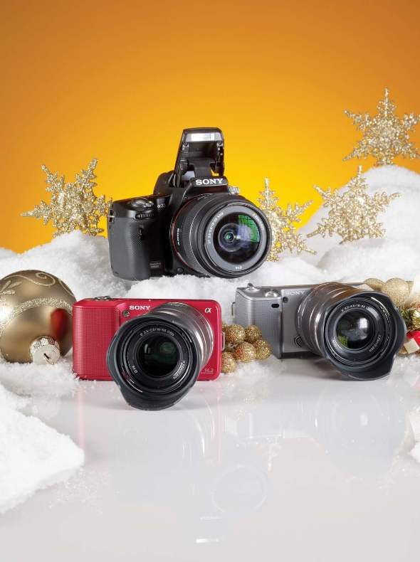 Holiday Gift Guide 2010 Sony Cameras