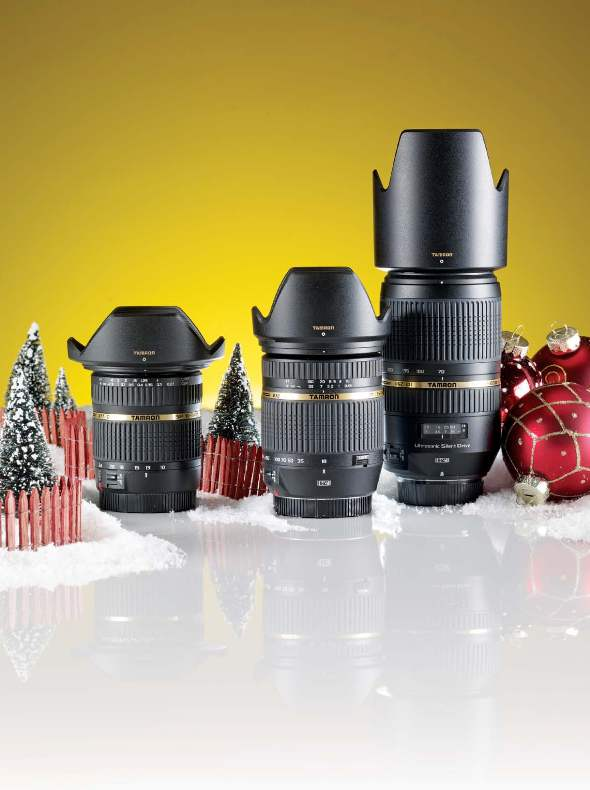 Holiday Gift Guide 2010 Tamron Lenses
