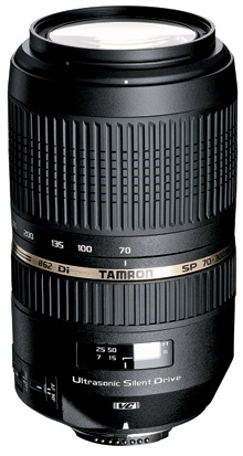 Ideal Three Lens Kit Tamron 70-300mm USD
