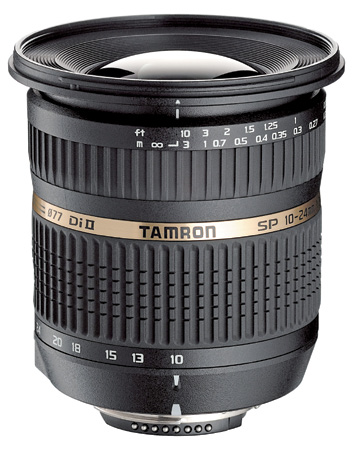 Ideal Three Lens Kit Tamron SP AF10-24mm F3.5-4.5 Di-II LD Aspherical IF
