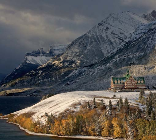 PHOTONews Winter 2010 Challenge Prince of Wales Hotel Waterton Alberta Thane Vanderaegen