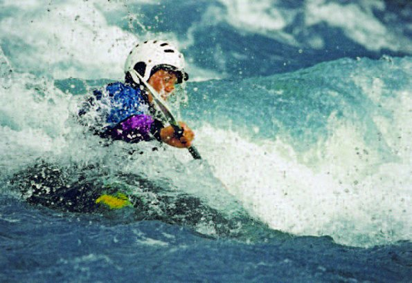 Photo Copyright Darwin Wiggett -  Kayak Rapids White Water