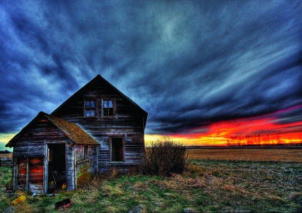 Spring Storm Homestead Thane Vanderaegen Lethbridge Alberta