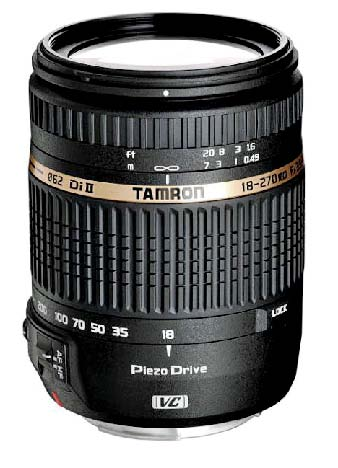Tamron AF 18-270mm F3.5-6.3 Di-II VC PZD Travel Zoom Lens