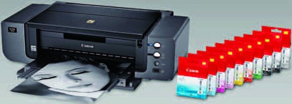 Choosing Printers and Papers by Peter Burian - Canon Printer and inks
