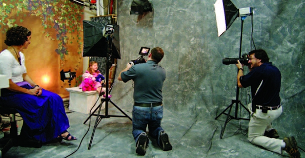 Photo Copyright Eli Amon - Behind the Scenes Studio Shot