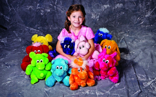 Photo Copyright Eli Amon - Child with Stuffed Animals