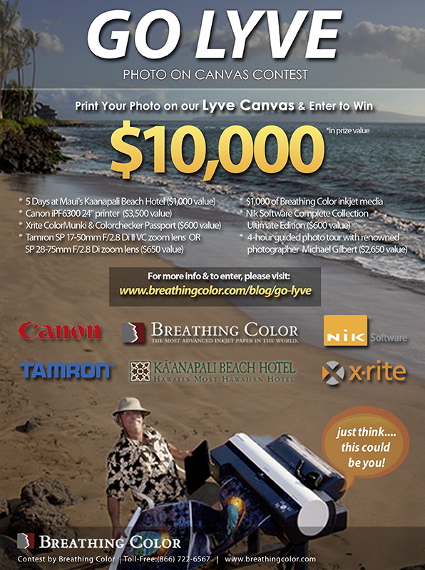 Go Lyve Contest Banner