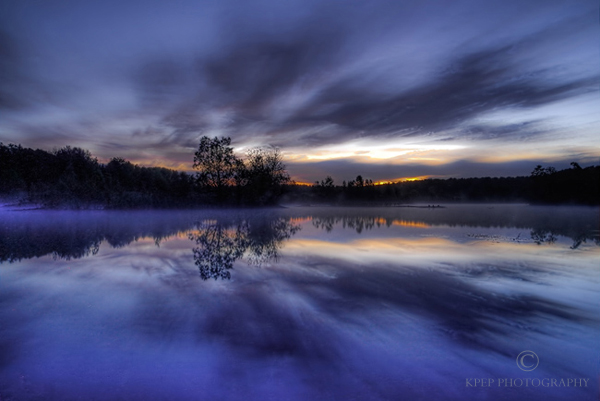 Long Exposure Landscape Photography - Photo Copyright Kevin Pepper - Puslinch Lake
