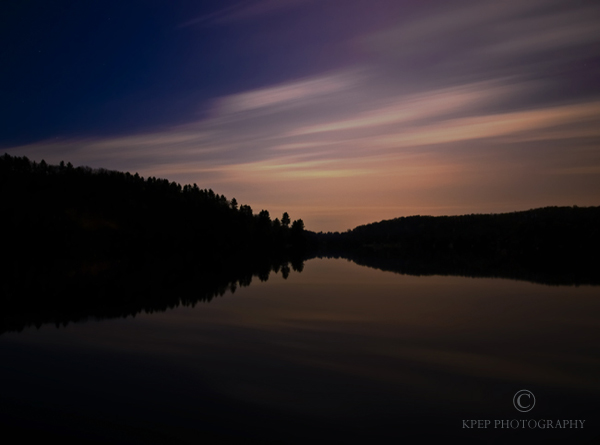 Long Exposure Landscape Photography - Photo Copyright Kevin Pepper - Salerno Lake
