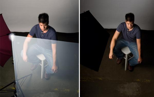 Photoflex - Understanding How Softboxes Work - 19 - Umbrella vs Litebox Overhead