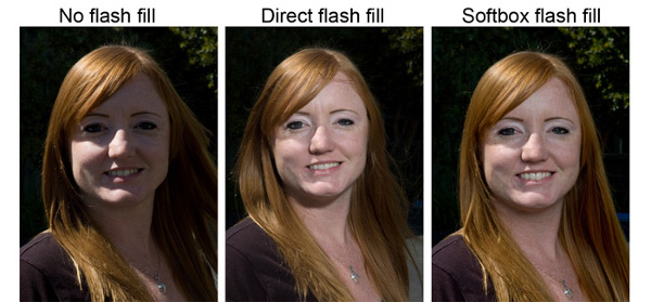 Photoflex - Understanding How Softboxes Work - 2 - Flash Fill Overhead