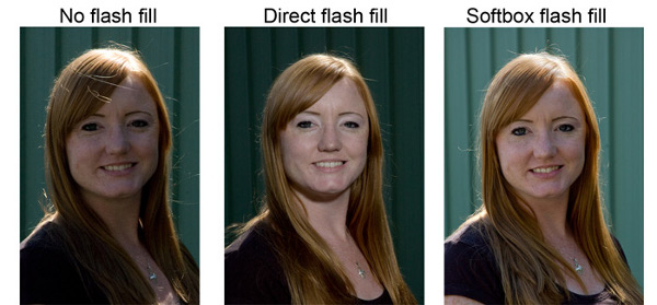 Photoflex - Understanding How Softboxes Work - 3 - Flash Fill Behind