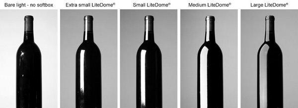 Photoflex - Understanding How Softboxes Work - 8 - Five Bottle Softboxes