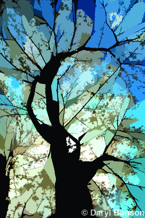 Daryl Benson - One Click Wonder - Cherry Tree Cutout Filter Photoshop