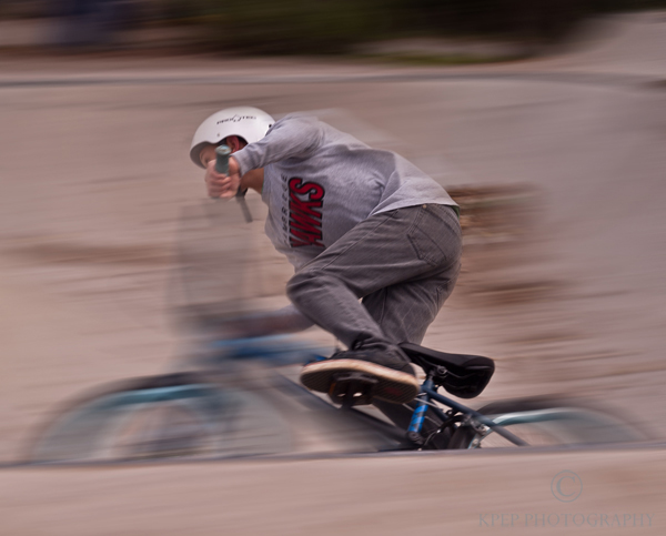 Kevin Pepper - Panning Photography - Around the Bend