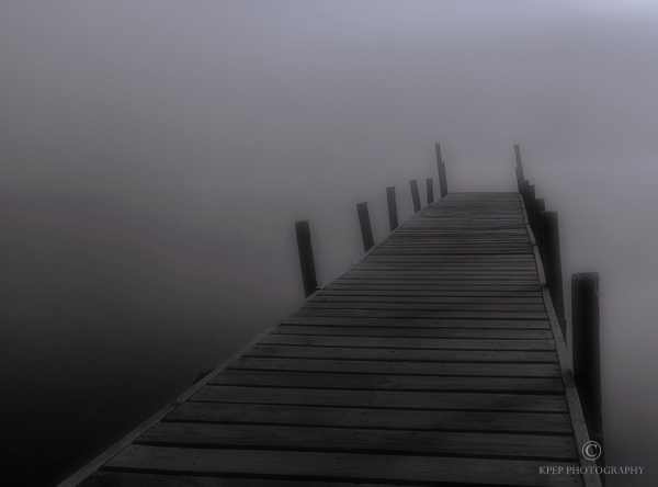 Kevin Pepper - Photographing in the Fog - Under the Cover of Moonlight a Place to Sit and Contemplate Life