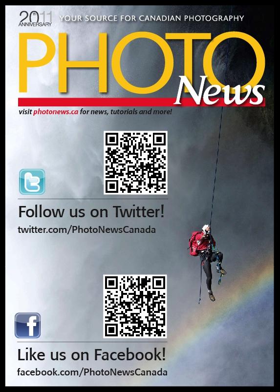 PHOTONews Magazine Facebook and Twitter PHOTONewsCanada