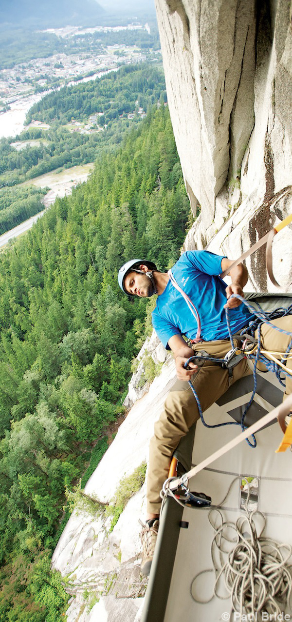 Paul Bride - The Adventure of Photography - Nathan Kukuths Squamish BC Rock Climber