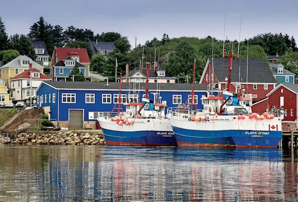 Eli Amon - Gearing up for Photo Adventures - Fishing Village in Nova Scotia
