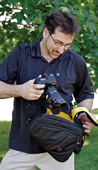 Eli Amon - Gearing up for Photo Adventures - Kata Bag
