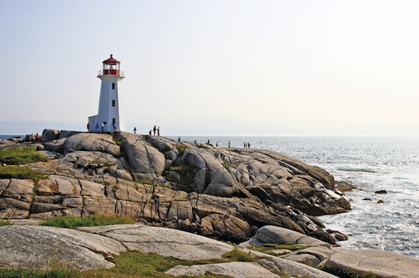 Eli Amon - Gearing up for Photo Adventures - Lighthouse at Peggy's Cove