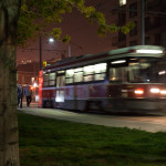 TTC Drops Off Passengers | 1/10 sec at f4.0 - ISO 1600 - VC On