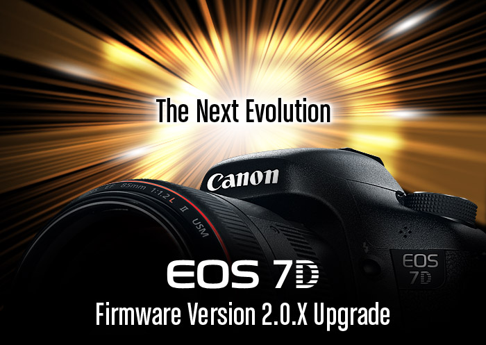 Canon Releases v2.0 Firmware for EOS 7D