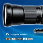 "SP 150-600mm F/5-6.3 Di VC USD (Model A011) awarded ""Best Expert DSLR Lens""."