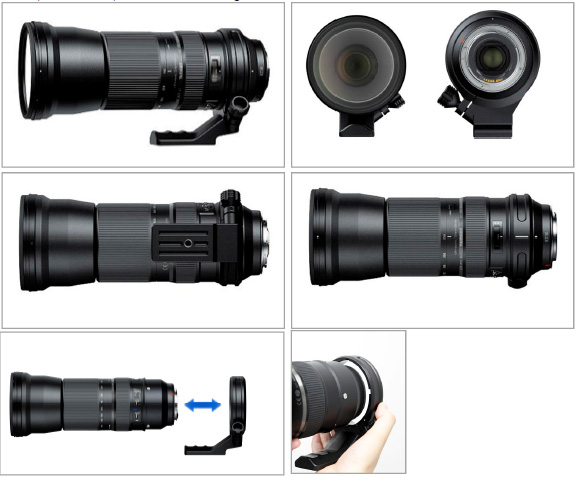 SP 150-600mm F/5-6.3 Di USD, A011