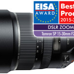 "Tamron SP 15-30mm wins ""European DSLR Zoom Lens 2015-2016"""