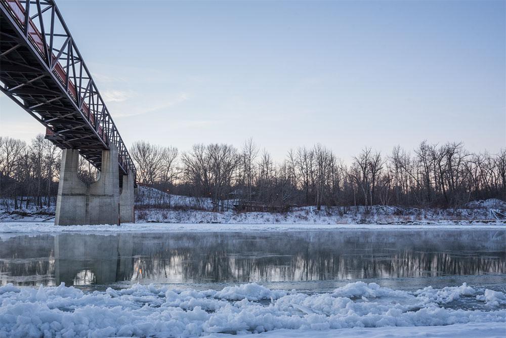 North Saskatschewan River