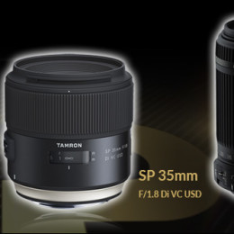 Tamron wins TIPA Award for three consecutive years