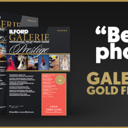 ILFORD Wins TIPA Award for GALERIE Prestige Gold Fibre Gloss