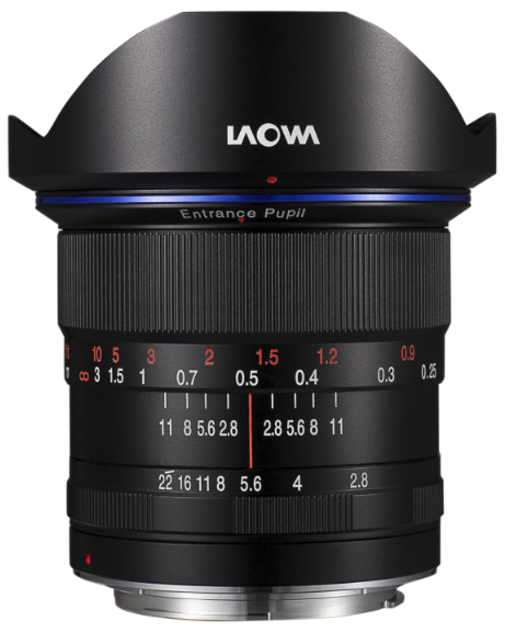 LAOWA 12mm f/2.8 'Zero-D' lens – The world's widest f-2.8 rectilinear lens
