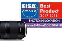 Tamron lenses awarded with two prestigious EISA Awards in 2017